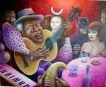 Obras de arte: America : Cuba : La_Habana : Vedado : bolero para turistas