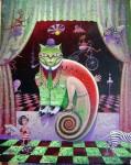 Obras de arte: America : Cuba : La_Habana : Vedado : el cuento del gato con zapatos