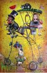Obras de arte: America : Cuba : La_Habana : Vedado : alicia del otro lado del espejo