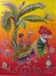 Obras de arte: America : Cuba : La_Habana : Vedado : adan y eva en el platanal de bartolo