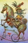 Obras de arte: America : Cuba : La_Habana : Vedado : trovador y quijote