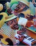 Obras de arte: America : Cuba : La_Habana : Vedado : la descarga