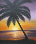 Obras de arte: America : Puerto_Rico : San_Juan_Puerto_Rico : Naguabo_Puerto_Rico : Atardecer