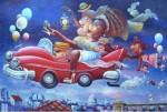 Obras de arte: America : Cuba : La_Habana : Vedado : boda de mulata con gallego