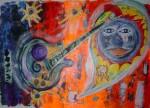 Obras de arte: Europa : Países_Bajos : Noord-Holland : Amsterdam : Guitar Heroe