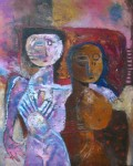 Obras de arte: America : Perú : Lima : miraflores : PAREJA