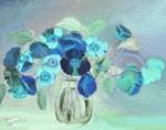 Obras de arte: America : Venezuela : Miranda : Guarenas : Pensamientos Azules