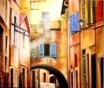 Obras de arte: Europa : España : Catalunya_Barcelona : Barcelona_ciudad : Un rayo de luz