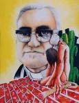 Obras de arte: America : El_Salvador : Santa_Ana : santa_ana_ciudad : MONSEÑOR ROMERO GUIA DE TU PUEBLO