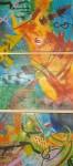 Obras de arte: America : Colombia : Antioquia : Envigado : Danza de la música