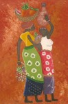 Obras de arte: America : Colombia : Antioquia : Envigado : Baile africano