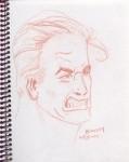 Obras de arte: America : Venezuela : Miranda : Guarenas : Serie Expresiones Faciales 1. (Sanguina Comprimida)