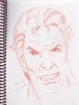 Obras de arte: America : Venezuela : Miranda : Guarenas : Serie Expresiones Faciales 4  (Sanguina Comprimida)