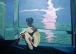 Obras de arte: Europa : España : Castilla_y_León_Burgos : Miranda_de_Ebro : Mirando al mar