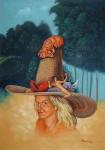 Obras de arte: America : Cuba : Pinar_del_Rio : Pinar_del_Río_ciudad : La cola de Annarela tiene cola
