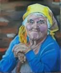 Obras de arte: Europa : España : Galicia_La_Coruña : FERROL : Anciana