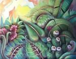 Obras de arte: America : Panamá : Panama-region : Panamá_centro : La tarde encendida