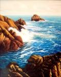 Obras de arte: Europa : España : Galicia_Pontevedra : Cambados : Aguiño