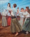 Obras de arte: Europa : España : Galicia_Pontevedra : Cambados : Baile