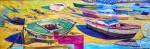 Obras de arte: Europa : España : Galicia_Pontevedra : Cambados : Barcas en Arnosa