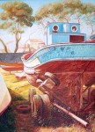 Obras de arte: Europa : España : Galicia_Pontevedra : Cambados : Barco O Grove