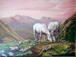 Obras de arte: Europa : España : Galicia_Pontevedra : Cambados : Caballos