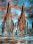 Obras de arte: America : México : Durango : durango_ciudad : La Cathédrale de la Terre.
