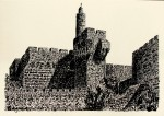 Obras de arte: Asia : Israel : Haifa : NEWE_SHAANAN : JERUSALEM( Torre de David)