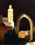 Obras de arte: Asia : Israel : Haifa : NEWE_SHAANAN : TORRE DE DAVID