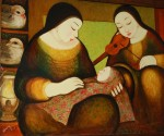 Obras de arte: America : Panamá : Veraguas : Santiago_de_Veraguas : CALOR MATERNAL