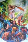 Obras de arte: America : Colombia : Santander_colombia : Bucaramanga : Entre el bien y el mal