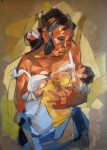 Obras de arte: America : Rep_Dominicana : Distrito_Nacional : 30_de_Marzo : Maternidad