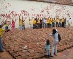 Obras de arte: America : Colombia : Santander_colombia : Bucaramanga : DESPLAZAMIENTO