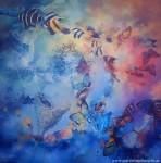 Obras de arte: America : Argentina : Buenos_Aires : Villa_Elisa : Ocaso de sol en tres universos
