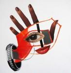 Obras de arte: America : Chile : Region_Metropolitana-Santiago : Santiago_de_Chile : las lineas de la mano