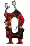 Obras de arte: Europa : España : Catalunya_Barcelona : Sitges : Alien fashion