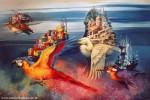Obras de arte: America : Argentina : Buenos_Aires : Villa_Elisa : A la deriva