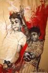 Obras de arte: America : Argentina : Buenos_Aires : Villa_Elisa : Chicos de la guerra