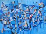 Obras de arte: Europa : Francia : Languedoc-Roussillon :  : - Novembre abstract art painting