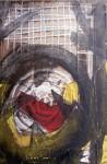Obras de arte: Europa : España : Andalucía_Almería : Almeria : LAS PATAS HERIDAS, LAS CRINES HELADAS, DENTRO DE LOS HOJOS UN PUÑAL DE PLATA.