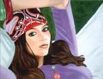 Obras de arte: Europa : España : Euskadi_Álava : Vitoria : Chica hippie