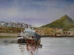 Obras de arte: Europa : España : Euskadi_Bizkaia : Bilbao : Ría de Portugalete-2