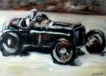 Obras de arte: America : México : Mexico_Distrito-Federal : Benito_Juarez : carcacha antigua de carreras
