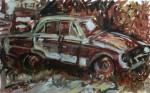 Obras de arte: America : México : Mexico_Distrito-Federal : Benito_Juarez : CARCACHA ABANDONADA