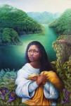 Obras de arte: America : Panamá : Panama-region : Panamá_centro : la Inmaculada del Chagres