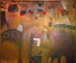 Obras de arte: America : Perú : Lima : chosica : el moro se fue de viaje