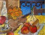Obras de arte: Europa : Italia : Calabria : lameziaterme : Frutta con violino