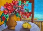 Obras de arte: Europa : Italia : Calabria : lameziaterme : Fiori con limoni