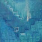 Obras de arte: America : México : Mexico_Distrito-Federal : Xochimilco : Escalera Cielo