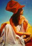 Obras de arte: America : Argentina : Buenos_Aires : Ciudad_de_Buenos_Aires : La Mujer del Sombrero Rojo ll